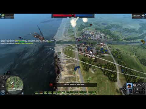 World in Conflict - Canal PvE 10/8/2017 (MW Mod 5)