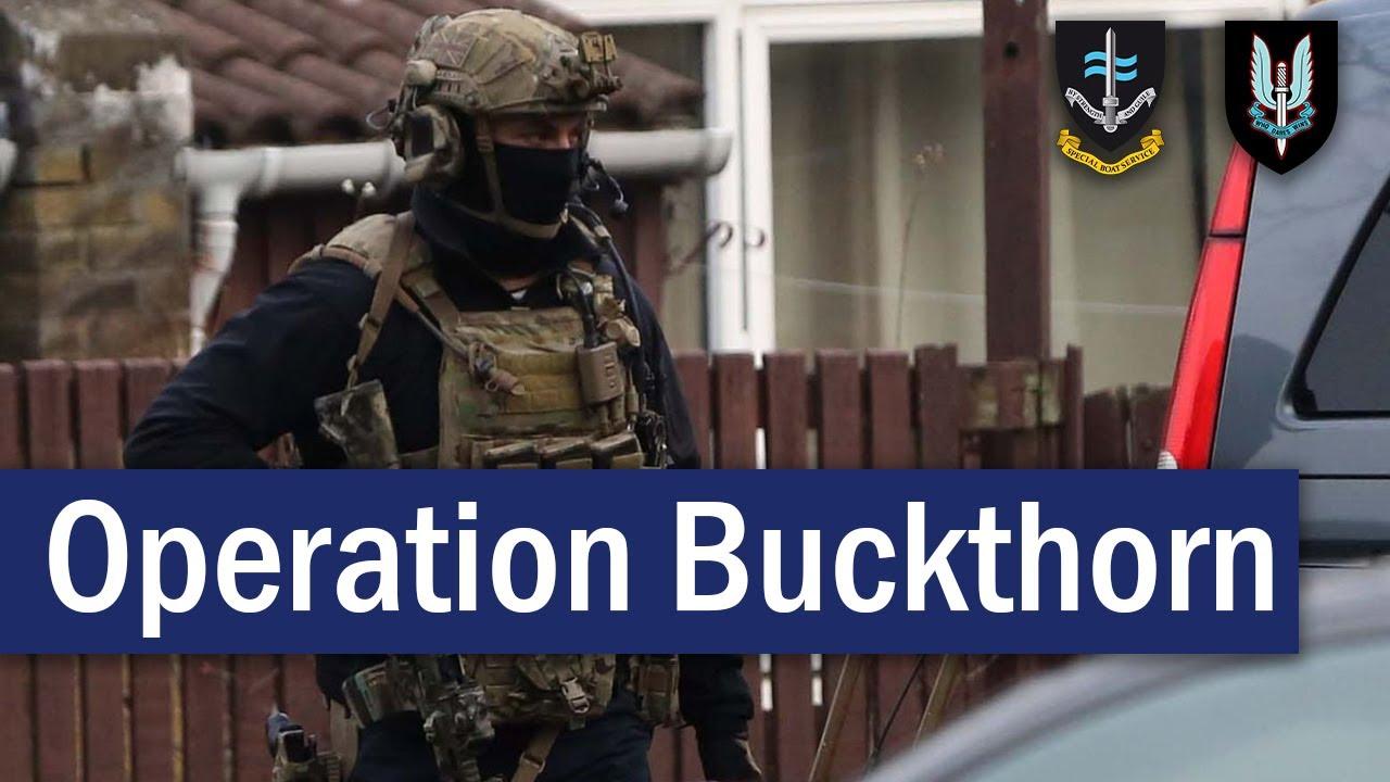 Operation Buckthorn : UK Special Forces Retake Hijacked Cargo Ship – December 2018