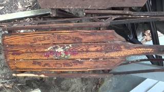 Antique Sleds Found In Garage Crawl Space