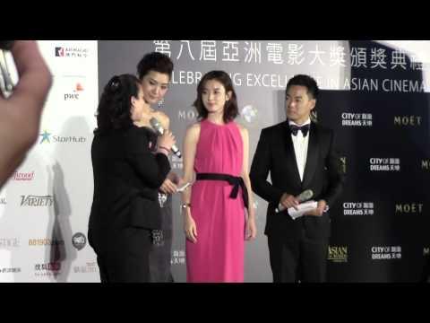 Han Hyo-joo (한효주) - 2014 Asian Film Awards red carpet - Meniscus Magazine