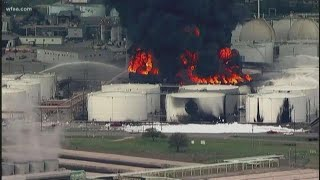 Verify: Will the Houston tanker fire impact gas prices?
