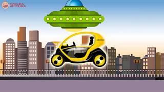 Мультик про машинки - Электромобили и Автовоз. Детский Развивающий Мультфильм