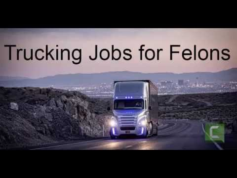 Trucking Jobs for Felons - YouTube
