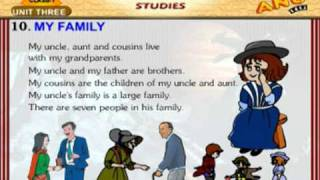 EVS Chapter 10 - My Family  For Kids