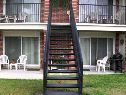 Custom exterior aluminum stair system by southeastern - Aluminum stair railings exterior ...