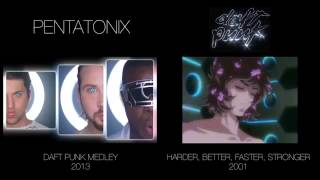 Daft Punk Pentatonix TheMickBab Side By Side