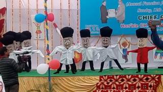 liliput dance by kali ram dav pub school safidon 4th class students 2016 17