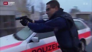 Repeat youtube video Reportage: Polizeischule Hitzkirch (LU) - Schweiz Aktuell