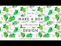 DIY Tutorial: how to make a gift box with your branding design