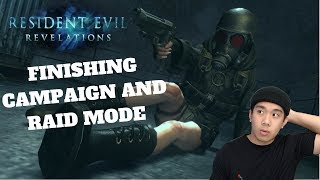 FINISHING CAMPAIGN AND RAID MODE - RESIDENT EVIL REVELATION (PC) Live Stream and More