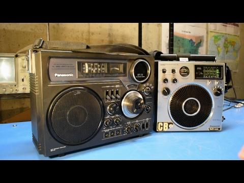 Shortwave Shootout Panasonic RF-2600 vs Panasonic RF-1150