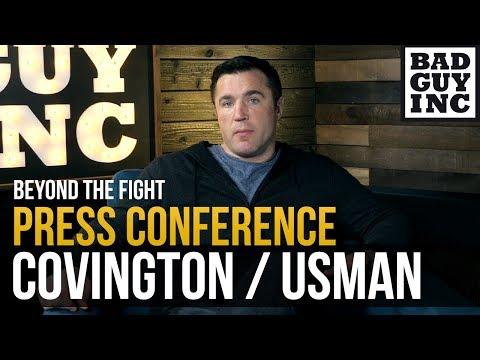 Perfect Press Conference: Colby Covington / Kamaru Usman