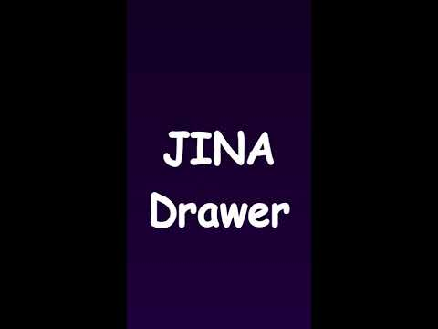 App Drawer Organizer Custom JINA App Drawer Organizer Sidebar Folders YouTube
