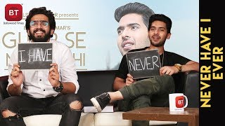 ghar se nikalte hi song composer amaal mallik armaan malik most riveting never have i ever