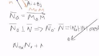 Найти уравнение прямой проходящей через данную точку
