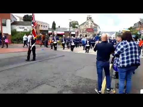 RBP Parade Kirkintilloch Scotland 12/8/17