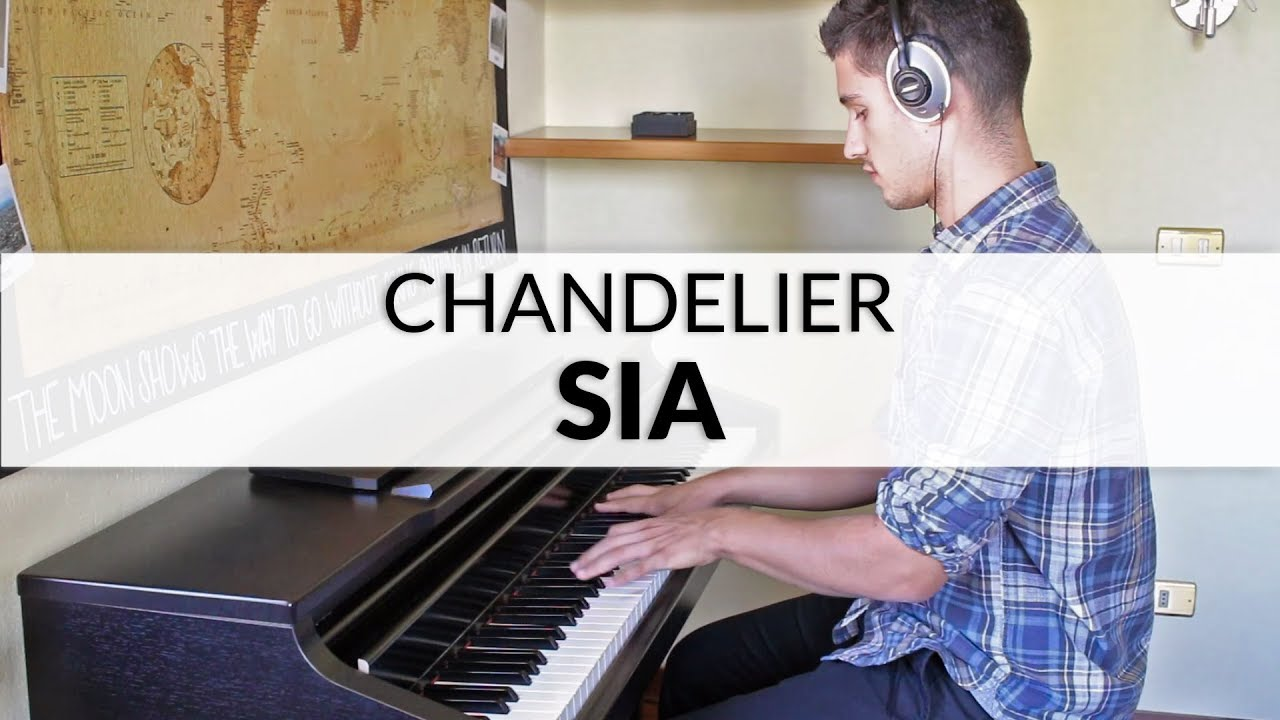 Sia - Chandelier | Piano Cover - YouTube