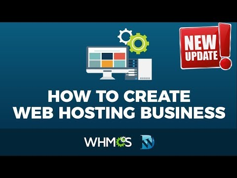How To Make A Web Hosting Website  With WordPress – WHMCS Tutorial