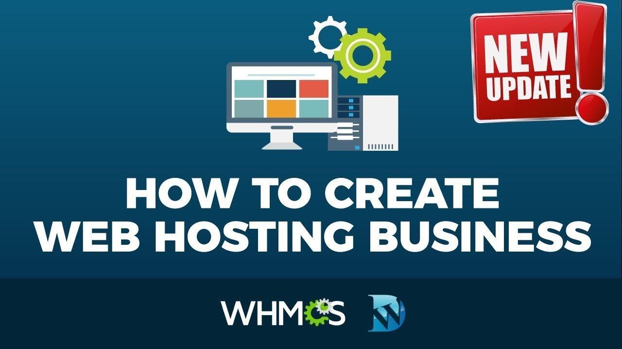 How To Make A Web Hosting Website  With Wordpress - WHMCS Tutorial