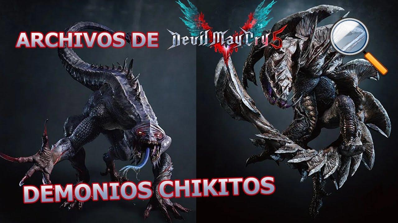 Analizo Todos los archivos de los enemigos - Devil may cry 5