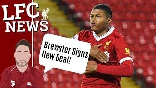 LFC Transfer Talk Rhian Brewster Signs Contract!! Shaqiri Interest Cools Down? #LFC Transfer News