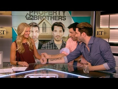 The 'Property Brothers' Bring The Magic To ET!