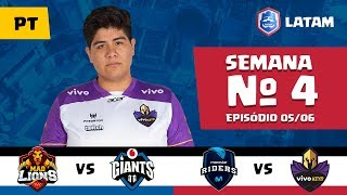CRL LATAM: Mad Lions vs Giants Gaming | Movistar Riders vs Vivo Keyd