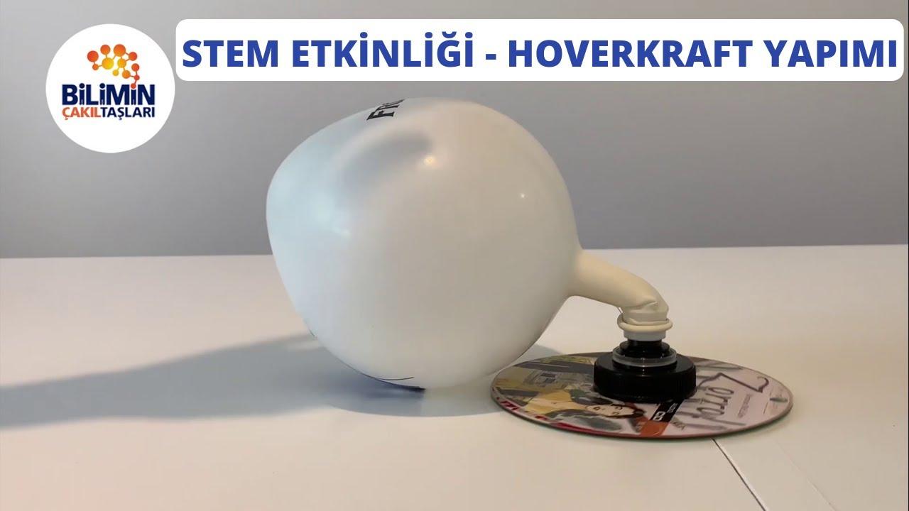 Okul Öncesi STEM Etkinliği - Hovercraft Yapımı