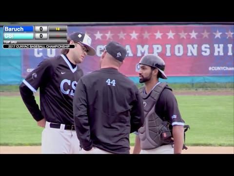 2017 CUNY Men's Baseball Championship (Game 1)