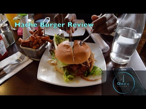 Best Burger in London? Hache Burger in Shoreditch Review I Places To Eat in London