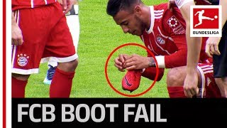 Ribery and Tolisso vs. Shoelace!