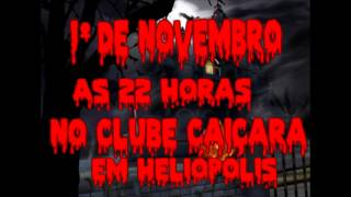 Vinheta do 3º Halloween Fantasy em Heliópolis Bahia