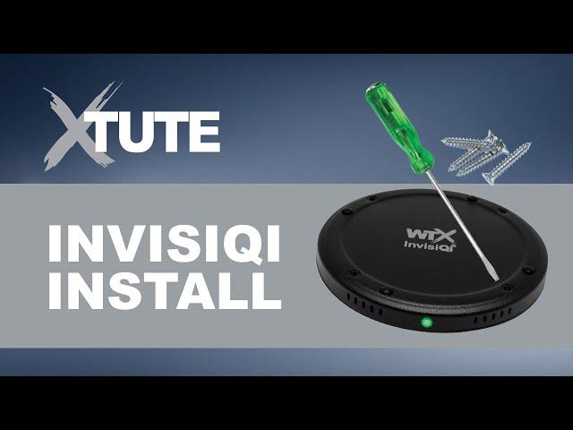 WTX XTute- InvisiQi Installation Video