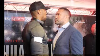 Video NO FEAR? - ANTHONY JOSHUA v KUBRAT PULEV - HEAD TO HEAD @ PRESS CONFERENCE (CARDIFF) / JOHSUA-PULEV download MP3, 3GP, MP4, WEBM, AVI, FLV September 2017