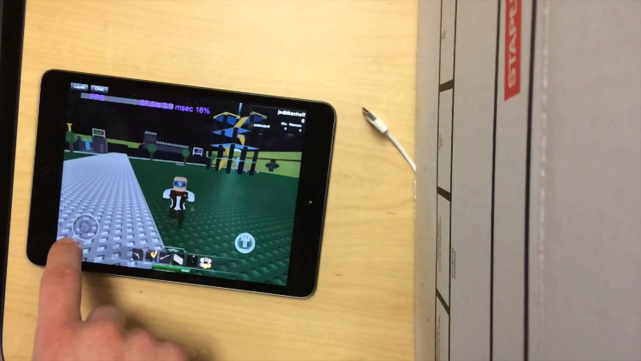 how to make a roblox youtube video on ipad