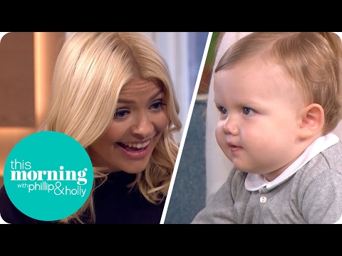 Holly Can't Resist the World's Most Followed Baby  This Morning