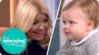Holly Can't Resist the World's Most Followed Baby | This Morning thumbnail