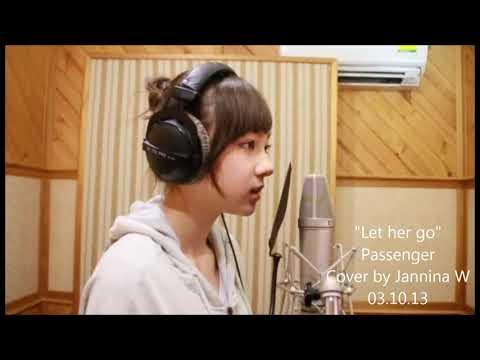 Let Her Go Cover By Jannina Weigle. Cewek Imut Suara Merdu...
