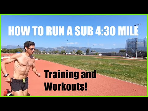 HOW TO RUN A SUB 4:30 MILE: WORKOUTS AND TRAINING RUNNING TIPS BY SAGE CANADAY