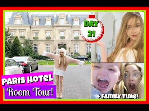 My Favourite Hotel in Paris/ Room Tour | Vlogmas 21