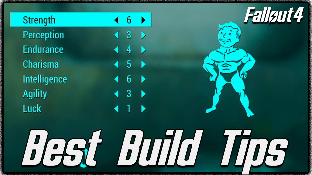 Fallout 4 - Best Character Build Tips + Secret SPECIAL Book ...