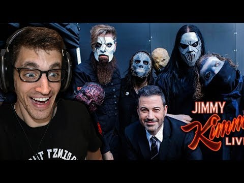 """Hip-Hop Head REACTS to SLIPKNOT: """"All Out Life"""" JIMMY KIMMEL"""