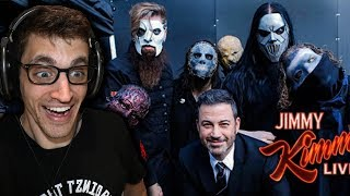 "Hip-Hop Head REACTS to SLIPKNOT: ""All Out Life"" (JIMMY KIMMEL LIVE)"