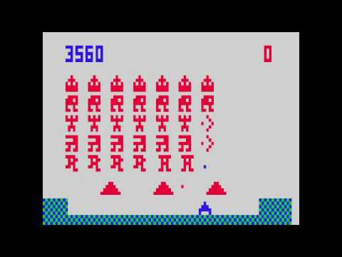VC 26 - Alien Invasion - (1981) - Channel F - gameplay HD