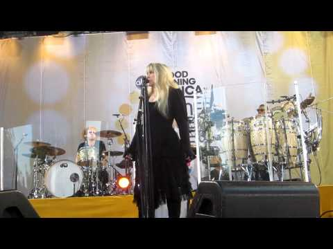 Stevie Nicks - Stand Back & Ghosts Are Gone Rehearsal 8/26/2011 GMA - NYC