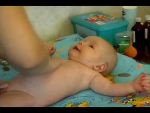 Закаливание младенца