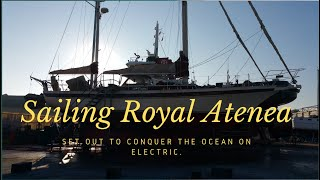 Sailing Sailboat Engine Room Refit