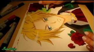 || Copic Marker || drawing ♥ Usui ♥ Kaichou wa Maid-sama!
