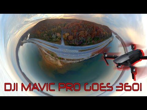 DJI MAVIC PRO - 360 DEGREE/VR PHOTO for FACEBOOK via LITCHI APP