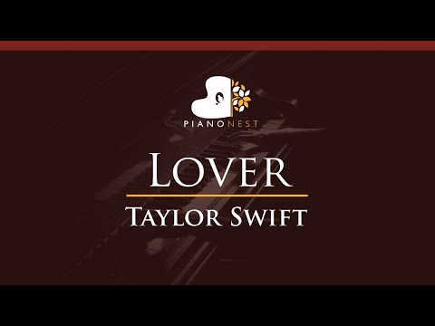 Taylor Swift - Lover - HIGHER Key (Piano Karaoke / Sing Along) thumbnail
